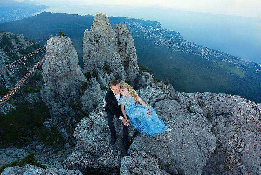 Свадьба для двоих в горах Ай-Петри
