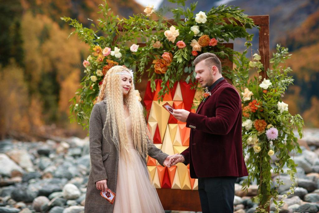 свадьба для двоих арка выездной регистрации