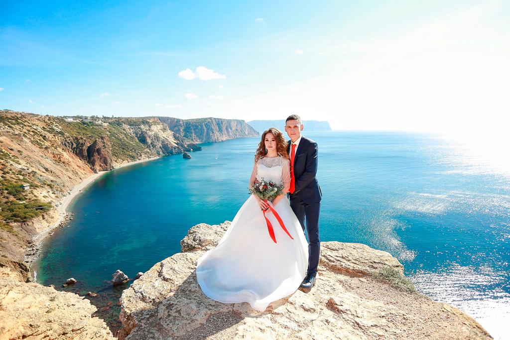 свадьба для двоих фиолент