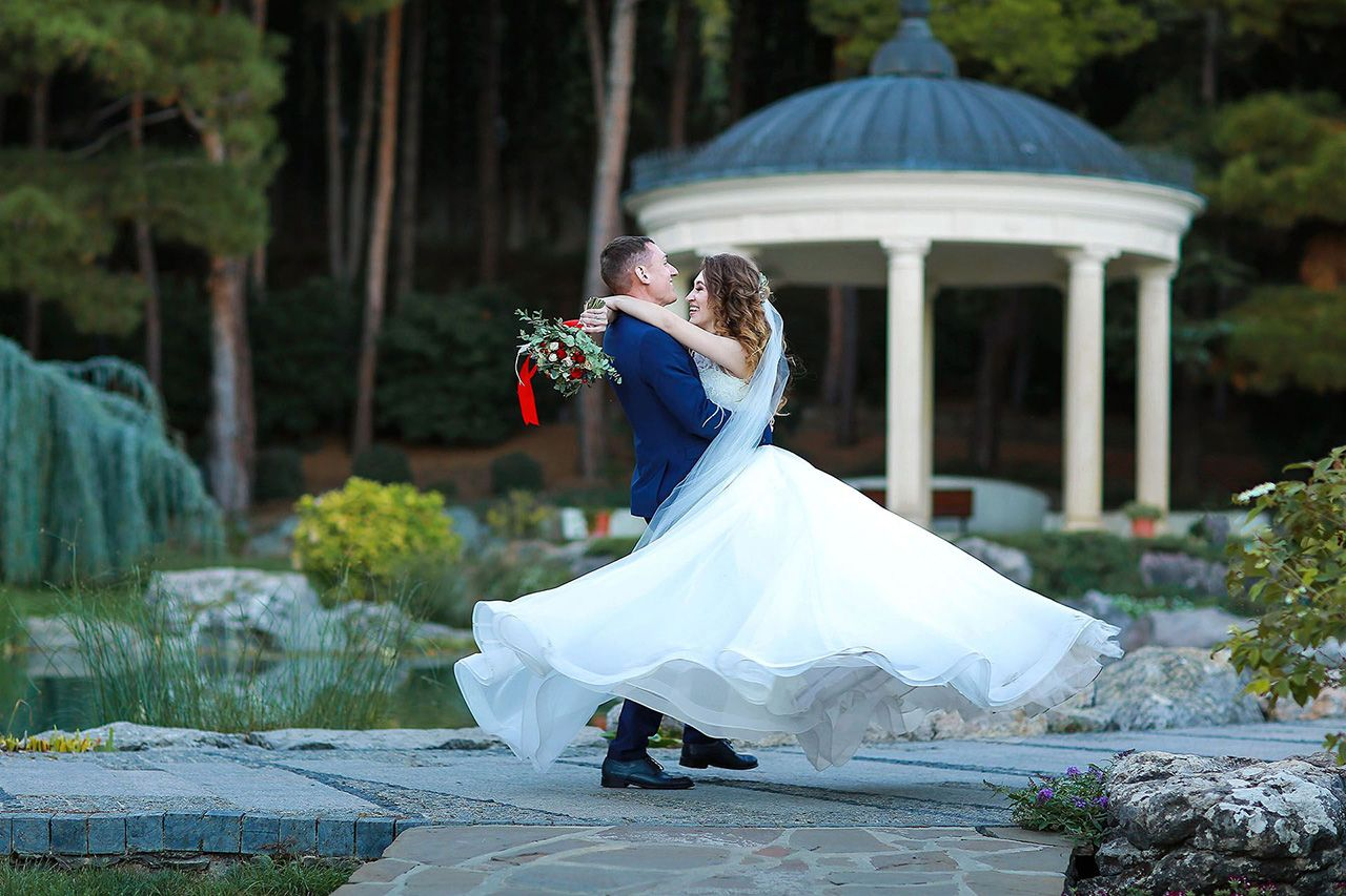 свадьба для двоих в партените