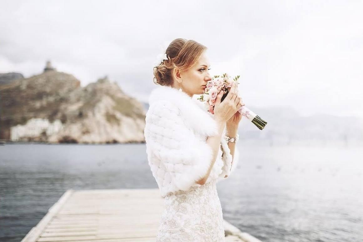 свадьба для двоих зимой в крыму