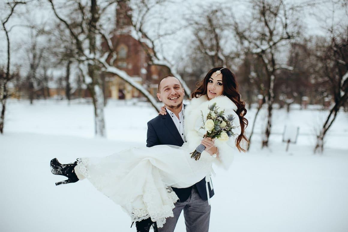 свадьба для двоих зимний крым